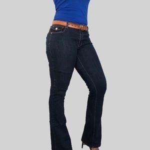 White House Black Market Denim Jeans Size 12R Dark